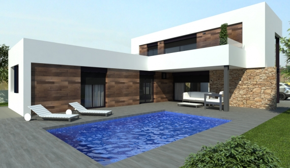 detached villa - New build - San Fulgencio - Urbanización La Marina