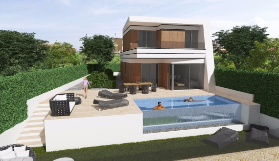 detached villa - New build - La Florida - Orihuela Costa - La Florida - Orihuela Costa